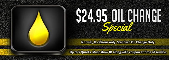 Oil Change Coupon Normal, IL