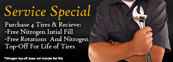 Nitrogen Fill Coupon Bloomington, IL