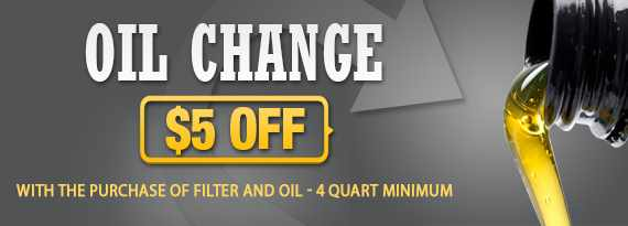 Oil Change Coupon Bloomington, IL